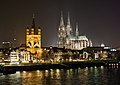 Night Skyline - Cologne, Germany - panoramio.jpg