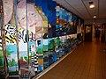 Nijmegen Heyendaalseweg 239 Roomsch Leven, versiering gang (01).JPG