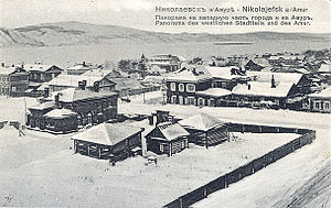 Nikolayevsk-on-Amur - View of Nikolayevsk, ca. 1900