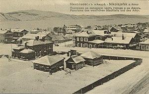 Nikolayevsk incident - Nikolayevsk-on-Amur around year 1900