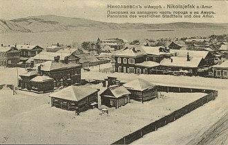 Nikolayevsk-on-Amur - View of Nikolayevsk, ca. 1900