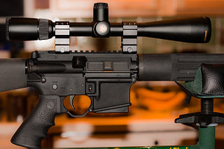 Mm Scope Rings With Accessorie Rail