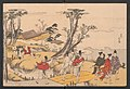 Nishikizuri onna sanjūrokkasen-Courtiers and Urchins, frontispiece for the album Brocade Prints of the Thirty-six Poetesses MET JIB5 005 crd.jpg