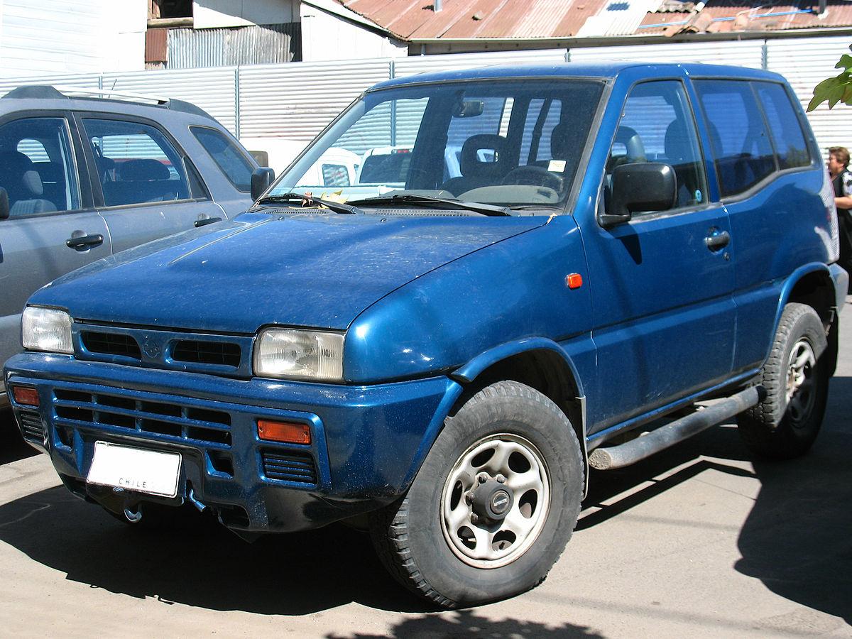 Nissan Terrano II - Viquipèdia, l'enciclopèdia lliure