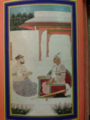 Nizam II and Arastu Jah ( on left founder of Paigah family in Hyderabad).png