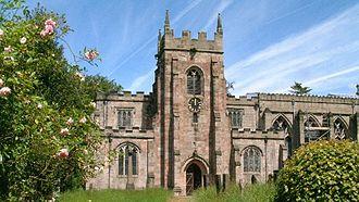 Norbury, Derbyshire - Image: Norbury Church Derbyshire