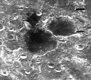 Chrétien (crater) - Image: Normal chretien large