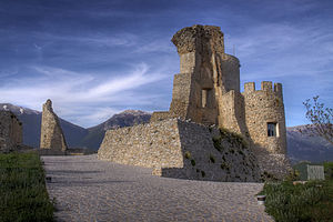 Morano Calabro - Norman fortress built on Roman ruins in Morano Calabro.