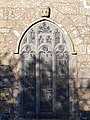 Norman carved heads on St Maddern Church, Madron Cornwall.jpg