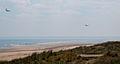 Normandy '10- Utah Beach 2-ship Hercules low pass (4830632983).jpg