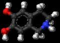 Norsalsolinol molecule ball.png