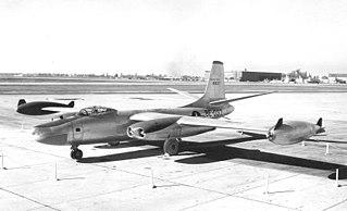 North American B-45 Tornado bomber aircraft