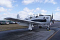 North American T-28B Trojan Marines NJ300H RSideFront TICO 13March2010 (14412774569).jpg