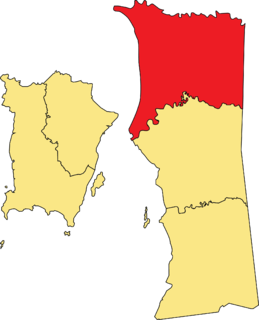 North Seberang Perai District District of Malaysia in Penang