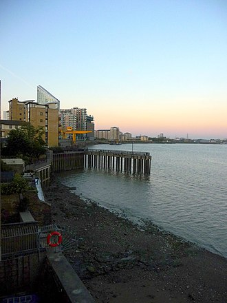 Coldharbour, Tower Hamlets - North Wharf, Coldharbour