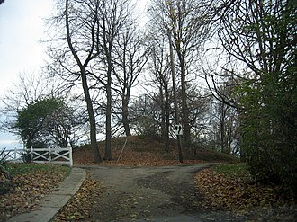 Norwood, Ohio - Norwood Mound was constructed by people of the prehistoric Adena culture and was likely used for religious ceremonies and smoke signaling