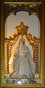 Notre-Dame-du-Laus (sanctuaire - 6 ) - Statue de la Vierge pour les processions.JPG