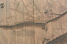 Novi sad map 1745