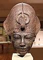 Nuovo regno, xviii dinastia, testa di amenhotep III con la corona blu, 1391-1353 ac ca.jpg