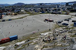 Nuuk Stadion in 2015