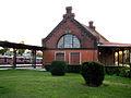 OPOLE dworzec PKP-budynek na placu między torami,dawniej pocztowo-telegraficzny. sienio.JPG
