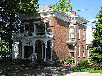 Delta Gamma - Delta Gamma sorority house at Ohio University