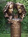 Obermenzing - Schloss Blutenburg - Agnes Bernauer Denkmal2 002.jpg