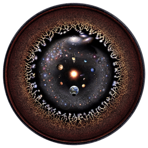 [صورة: 480px-Observable_universe_logarithmic_illustration.png]