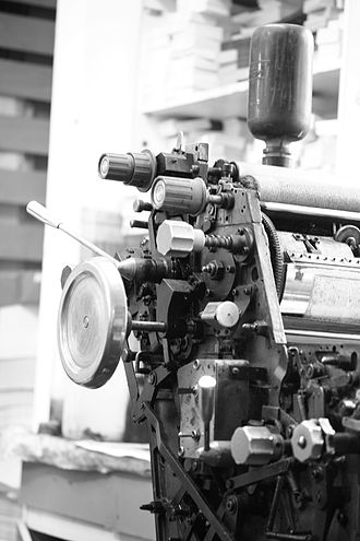 Gestetner - An A4-size Gestetner offset-printing machine