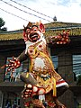 Ogoh-ogoh on the streets of Ubud during preparations for the parade 06.jpg