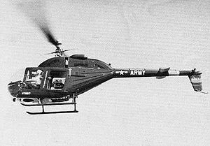 Bell OH-58 Kiowa - YOH-4A LOH in flight