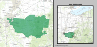 Ohios 2nd congressional district American political district