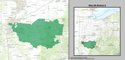 Ohio's 2nd congressional district - since January 3, 2013.