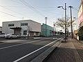 Oita Prefectural Road No.526 in front of Yanagigaura Station.jpg