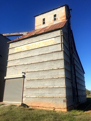 National Register of Historic Places listings in Kingfisher County, Oklahoma - Image: Okarche Ok Dow Grain Elevator