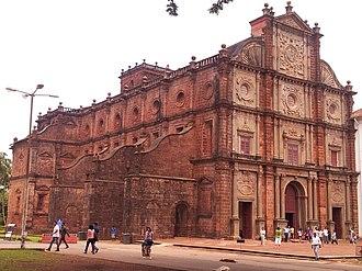Old Goa - Image: Old Goa Church 01