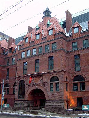The Hospital for Sick Children - Victoria Hospital for Sick Children building (now housing Canadian Blood Services)