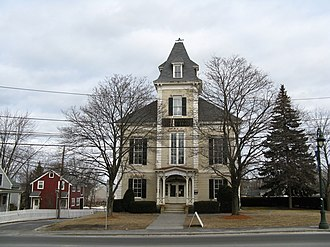Chelmsford, Massachusetts - Old Town Hall, now the town's Center for the Arts