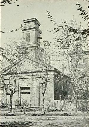Christ Episcopal Church (Burlington, Iowa) - Old Zion Church
