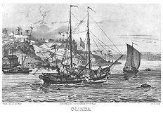 Invasões Holandesas em Olinda.