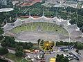 Olympiastadion München vom Olympiaturm am 12.08.2013.JPG