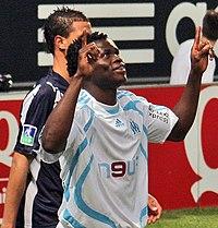 Olympique de Marseille - Girondins de Bordeaux 2007 2008 Taye Taiwo.jpg