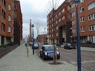 Olympisch Kwartier Neighborhood of Amsterdam in North Holland, Netherlands