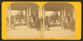 On piazza of the Missisquoi Spring Hotel, Sheldon. Group of New Yorkers, by T. G. Richardson.png