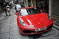 Only in HK… are the Ferraris parked in the street overnight and nobody blinks! (8117558146).jpg