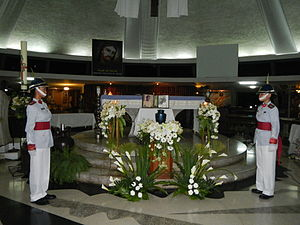 Onofre Corpuz - Necrological service of Dr. Onofre Corpuz at Parish of the Holy Sacrifice.