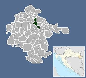 Bogdanovci - Image: Općina Bogdanovci