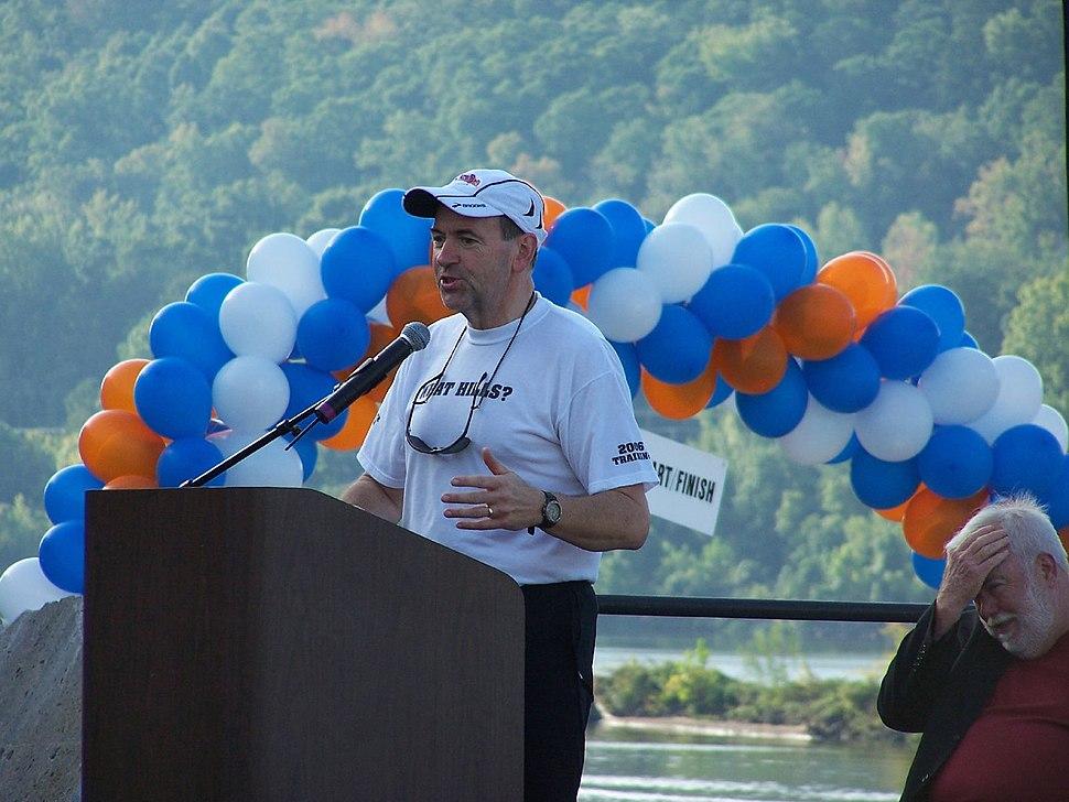 Opening Ceremonies of the Big Dam Bridge with Gov. Mike Huckabee