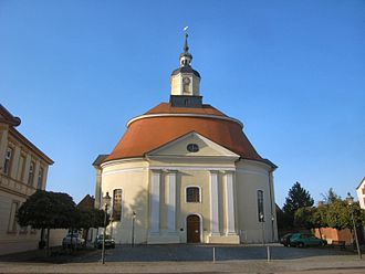 Oranienbaum, Germany - Protestant church