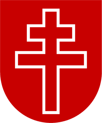 Canonesses Regular of the Holy Sepulchre - Emblem of the Canonesses Regular of the Holy Sepulchre